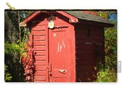 Red Outhouse Carry-all Pouch