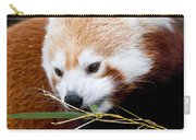 Red Panda  Ailurus Fulgens In Captivity Carry-all Pouch