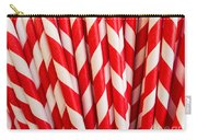 Red Paper Straws Carry-all Pouch