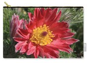 Red Pasque Flower Carry-all Pouch