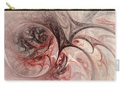 Red Passion - Abstract Art Carry-all Pouch