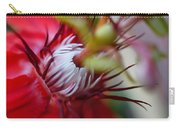 Red Passion Flower Stamens Carry-all Pouch