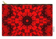 Red Patchwork Art Carry-all Pouch