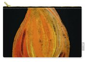 Red Pear - Delicious Modern Fruit Food Art Print Carry-all Pouch