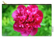 Red Peony Flower Carry-all Pouch