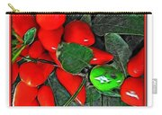 Red Pepper Plant Carry-all Pouch