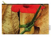 Red Petunia  Carry-all Pouch
