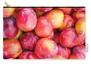 Red Plums Carry-all Pouch