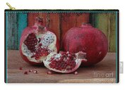 Red Pomegranate Carry-all Pouch