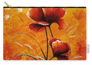 Red Poppies 023 Carry-all Pouch