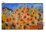 Red Poppies 562111 Carry-all Pouch