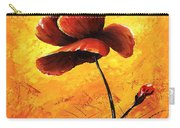 Red Poppy 012 Carry-all Pouch