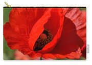 Red Poppy 2 Carry-all Pouch