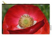 Red Poppy 3 Carry-all Pouch