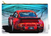 Red Porsche 930 Turbo Carry-all Pouch
