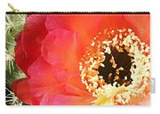 Red Prickly Pear Blossom Carry-all Pouch