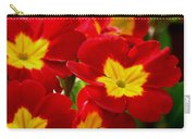 Red Primroses Carry-all Pouch