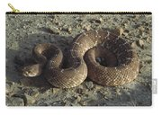 Red Rattlesnake Baja California Mexico Carry-all Pouch