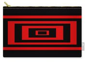 Red Rectangle Carry-all Pouch
