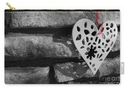 Red Ribbon Heart Carry-all Pouch