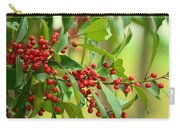 Red Ripe Berries Carry-all Pouch