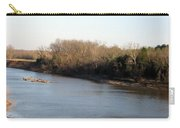 Red River Looking East Carry-all Pouch