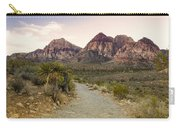 Red Rock Canyon Trailhead Carry-all Pouch