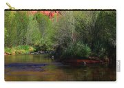 Red Rock Crossing Reflections Carry-all Pouch