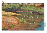 Red Rock Crossing-sedona Carry-all Pouch by Marilyn Smith
