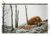 Red Rock Frost - Green Mountain - Wyoming Carry-all Pouch