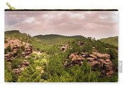 Red Rock Green Forest No2 Carry-all Pouch