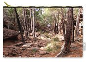 Red Rock Pine Forest Carry-all Pouch