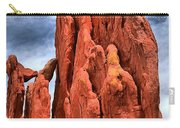 Red Rocks Against Blue Skies Carry-all Pouch
