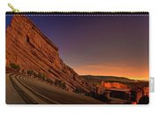 Red Rocks Amphitheatre At Night Carry-all Pouch
