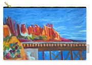 Red Rocks And Railroad Trestle Carry-all Pouch