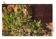 Red Rocks And Tree 1 Carry-all Pouch
