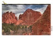 Red Rocks At Garden Of The Gods Carry-all Pouch