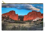 Red Rocks At Sunrise Carry-all Pouch