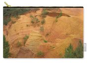 Red Rocks Of Roussillon Carry-all Pouch