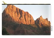 Red Rocks Of Zion Park Carry-all Pouch