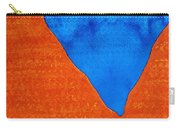 Red Rocks Original Painting Carry-all Pouch