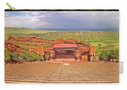 Red Rocks Park Amphitheater - Centered View Carry-all Pouch