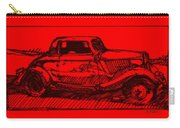 Red Rod Carry-all Pouch