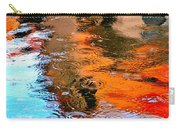 Red Roof Tile Reflection 29412 Carry-all Pouch