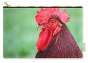 Red Rooster Portrait Carry-all Pouch