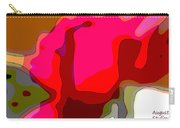 Red Rose Abstract Carry-all Pouch