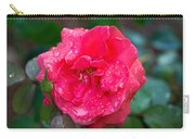 Savannah Ga Red Rose After A Rain Carry-all Pouch