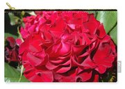 Red Rose Art Prints Big Roses Floral Carry-all Pouch