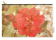 Red Rose At Noon Carry-all Pouch
