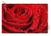 Red Rose Carry-all Pouch by Elena Elisseeva